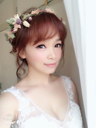 花仙子低盤髮+中國風後編髮+高丸子包頭