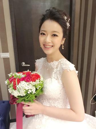 甜美、可愛新娘~婚禮現場