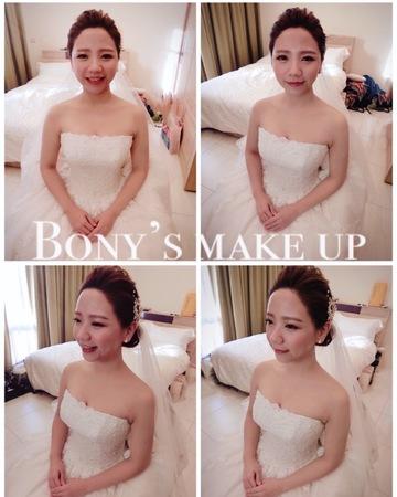 韓系優雅白紗
