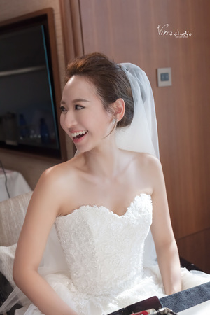 名媛風~氣質款新娘造型