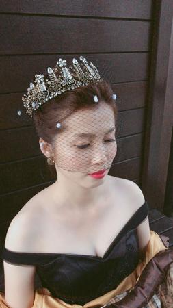 黑紗霸氣大皇冠女王造型