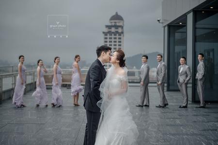 婚禮紀錄   WEDDING 萬豪酒店  儀式宴客   綠攝影像