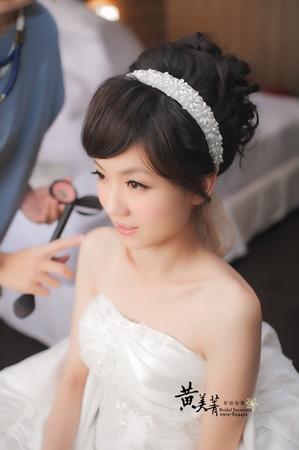 莉玲 結婚整體造型