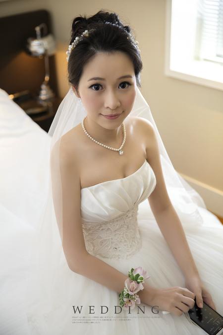 黑髮新娘 溫婉氣質的新娘造型/文君/台北國賓