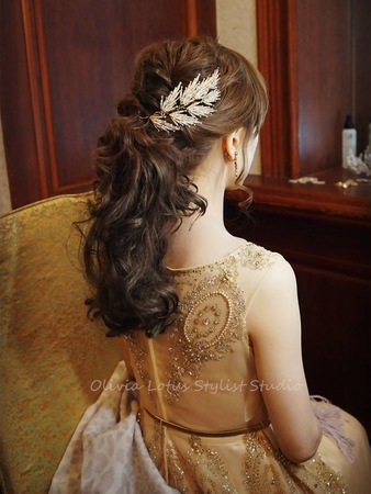 浪漫公主風|華麗森林系|時尚高馬尾|俏皮側編髮|輕透水亮底妝