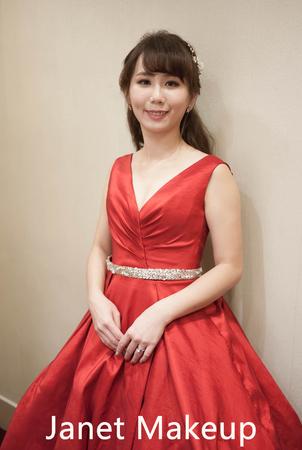 葉子 結婚造型@華漾 #台北新秘