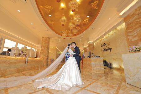 超高顏質空姐新娘  高雄林皇宮/ 雷司利 /婚禮紀錄 Steven . Ivy