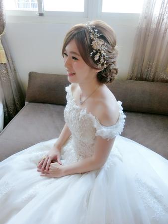 宜蘭新秘-訂結儀式迎娶造型