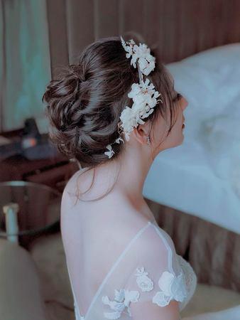 【吉吉藝術 GIGI CHIU】Uc結婚午宴台北維多麗亞酒店