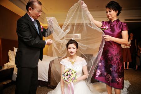 這一刻似乎靜止了 ♥ 台北馥都飯店 | 迎娶 ♥