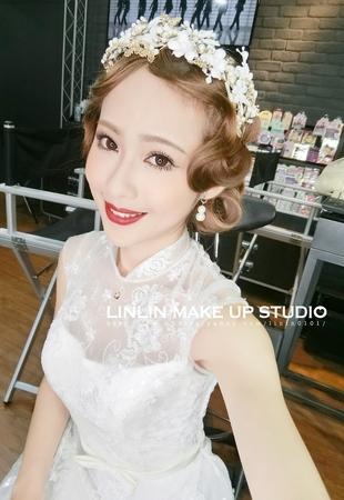 琳琳LinLin專業彩妝攝影團隊新秘作品