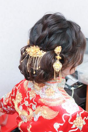 中國古典美女上花轎