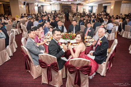 婚禮紀錄WEDDING | 台中-全國大飯店| 幸運草攝影工坊