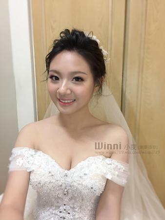 暄閔- 迎娶白紗造型