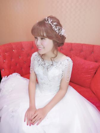 婚禮❤️美虹~白紗造型