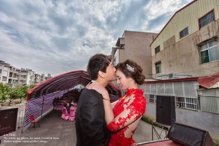 婚禮紀錄WEDDING   台南永康自宅  幸運草攝影工坊
