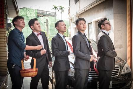 婚禮紀錄WEDDING | 高雄-橋頭區五林國小| 幸運草攝影工坊