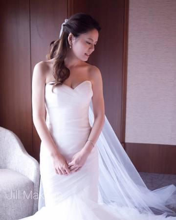 Amber 結婚造型@遠企飯店