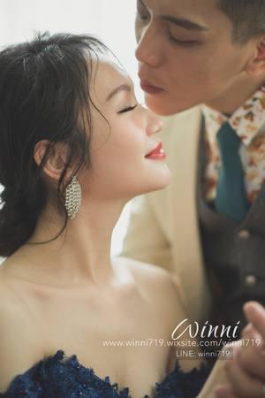 自主婚紗(明星般精緻優雅妝感/髮型)想這麼美麗就交給winni小閔!