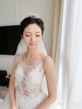 女神柔美感白紗造型