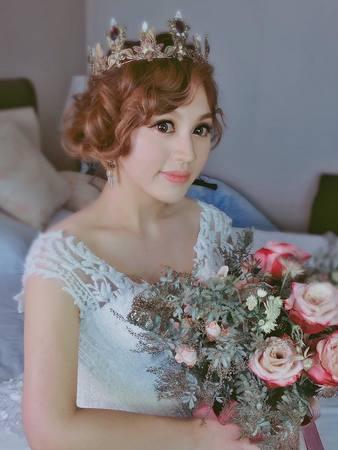 【吉吉藝術 GIGI CHIU】cindy結婚午宴中壢古華飯店