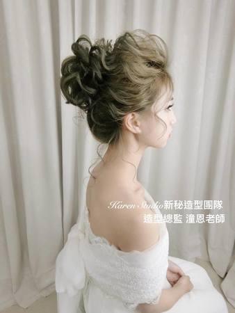 【Karen林潼恩】 最新作品 ~仙氣花包髮型
