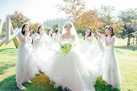 台中雅園新潮-倫❤瀞結婚之囍