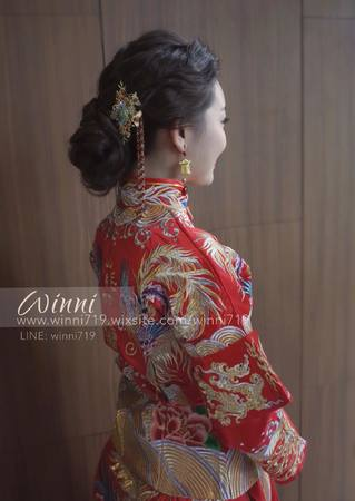 穿越時空復古秀和服(新娘訂婚造型)
