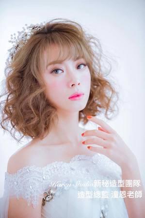 【Karen林潼恩】 最新作品 ~新娘短髮日式髮型