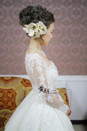 筱雯 結婚整體造型