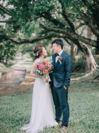 Paul & Charlotte / 美式婚禮 / 戶外證婚