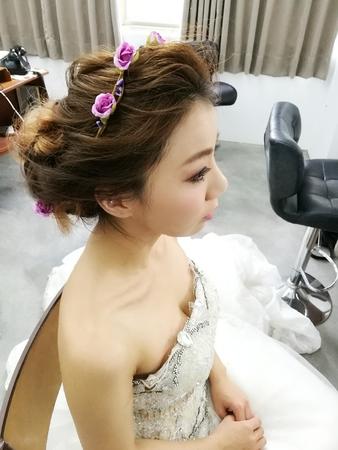 氣質仙女盤髮
