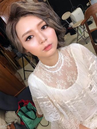 ◇ Elaine Sun ◇ 筱筱 ◇ 混血兒妝容