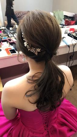 Irene結婚造型@晶宴