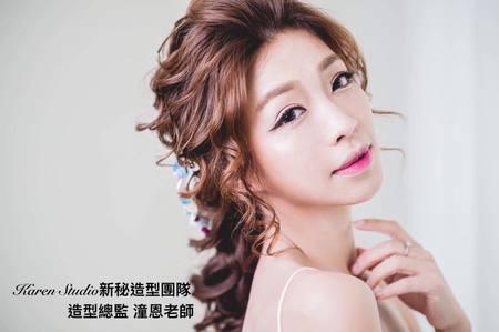 【Karen林潼恩】 最新作品  ~超級明星臉 蔡淑臻