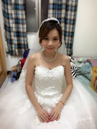 瑜珊結婚造型