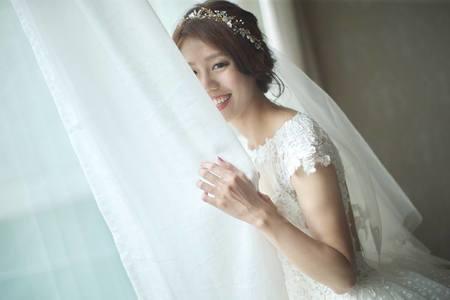 嘉義新秘|簡約低盤髮&俏麗高馬尾&浪漫公主頭編髮![新秘雨晴SunnyYu]