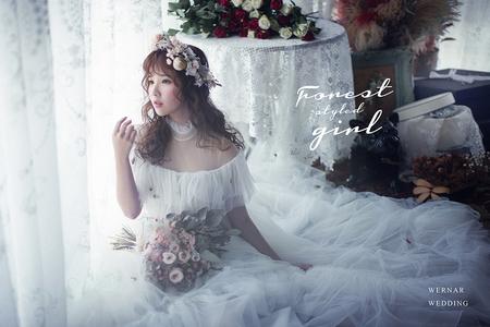 【華納婚紗】法式純粹的美
