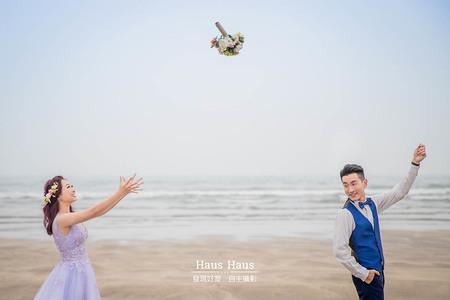 浪漫海景 l 拍婚紗