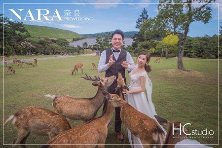 HC海外婚紗 x 日本 x 京都奈良