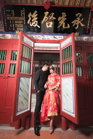 宗榜  ♥  家瑩 新竹Vanessa 手工婚紗。攝影工作室