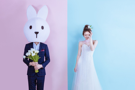 【華納婚紗】百變素底