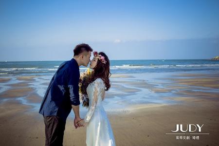 大佑❤️彥均| JUDY文創.婚禮 | 婚紗照 | 沙崙沙灘 | 陽明山花卉 | 黑森林