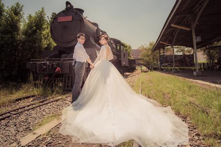 凱琳&偉成-勾勾手拍婚紗