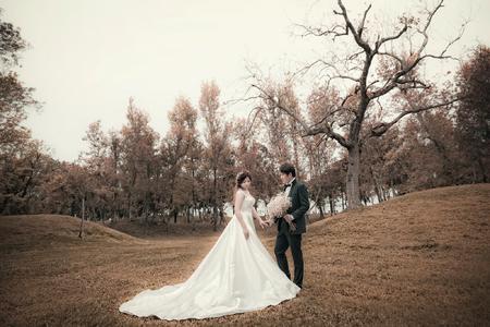 (香榭大道)-婚紗攝影-新人-秀妍-仁山苗圃