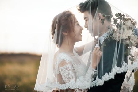 RenRenX裴妮(PN LO) 輕時尚歐美婚紗