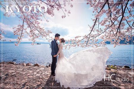 HC海外婚紗 x日本 x 京都櫻花