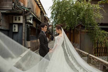 子安/懿欣 京都婚紗。