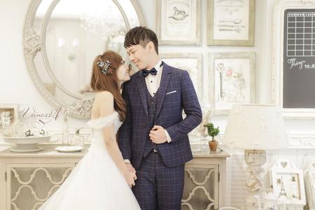 Shuo  ♥ Wen 新竹Vanessa 手工婚紗。攝影工作室