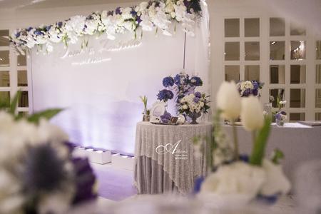 藍與紫的優雅